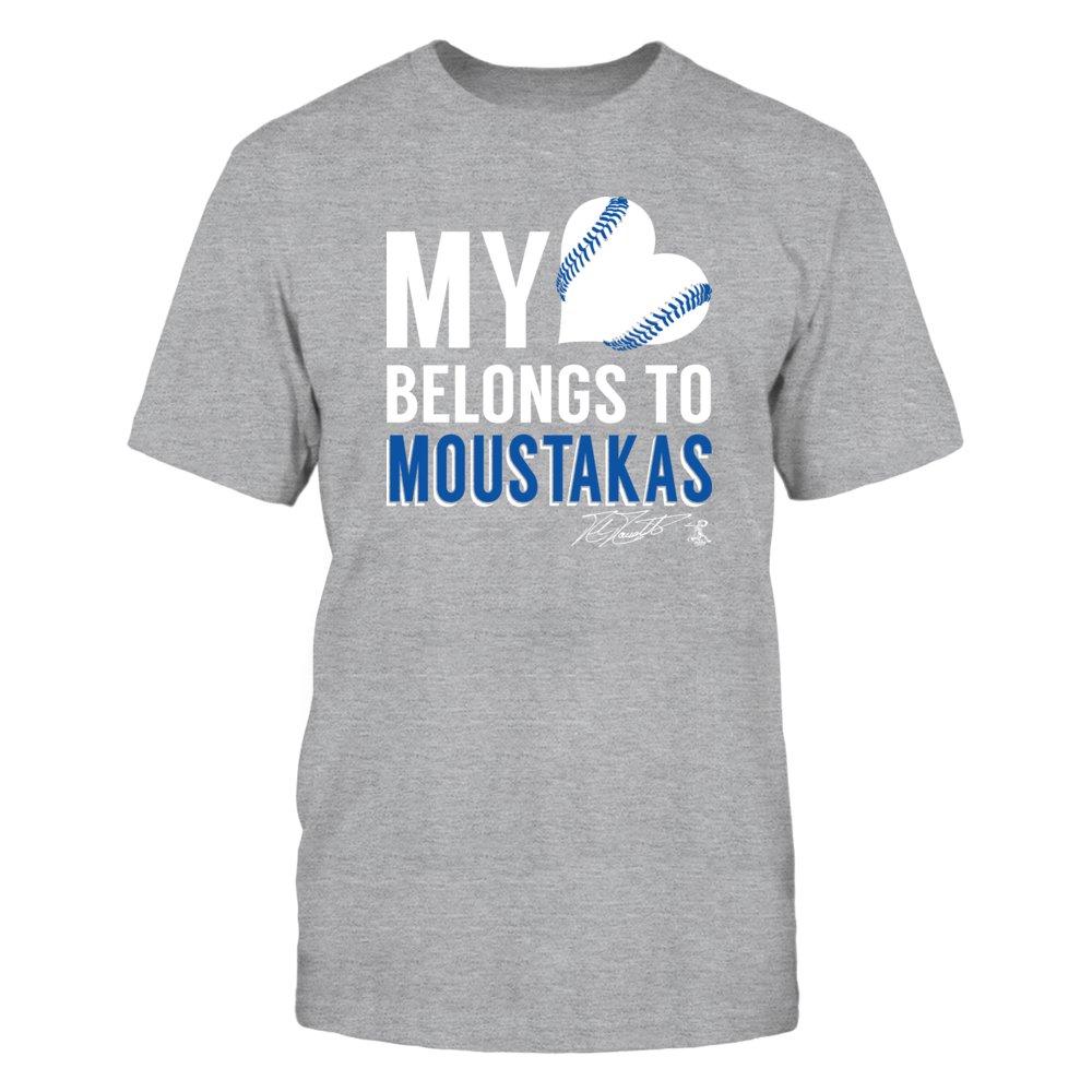 Mike Moustakas - My Heart Belongs To Front picture