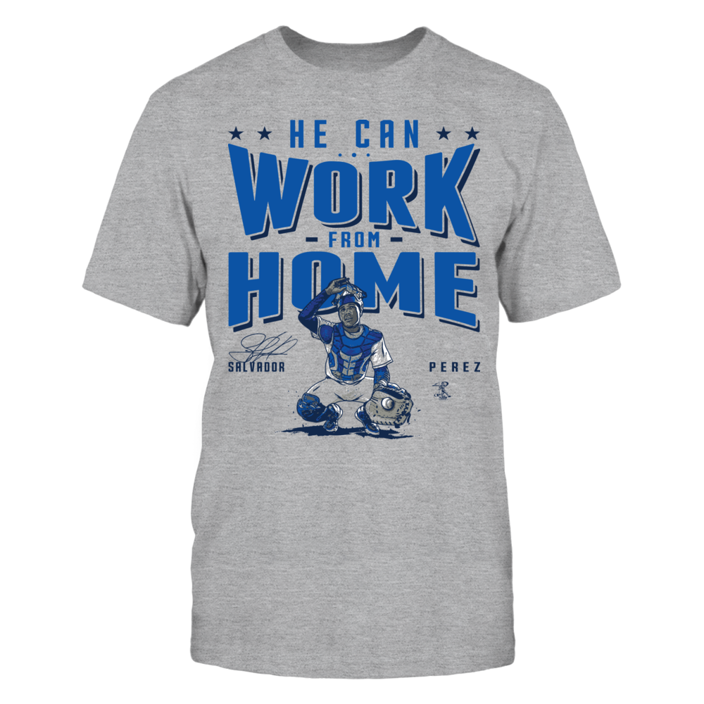 Salvador Perez Salvador Perez - He Can Work From Home FanPrint