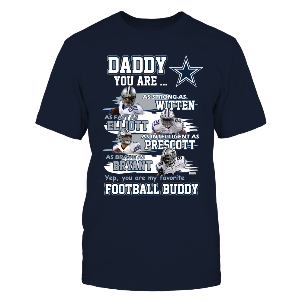 Daddy you are my favorite football buddy Front picture