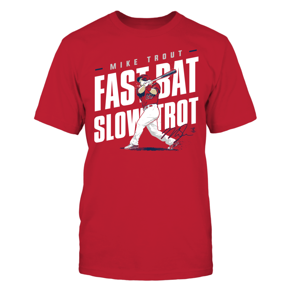 Mike Trout - Fast Bat Slow Trot Front picture