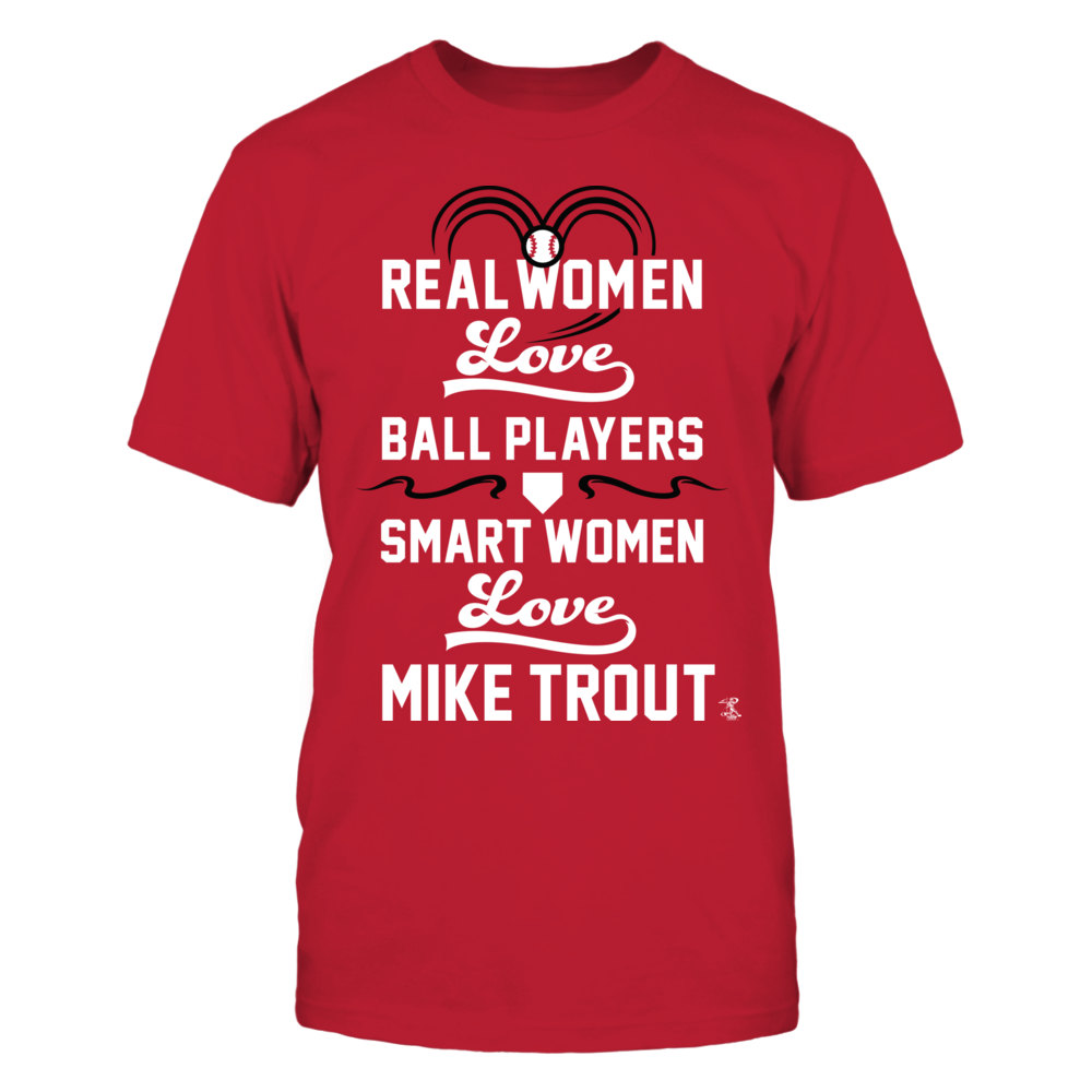 Mike Trout - Real Women Smart Women Front picture