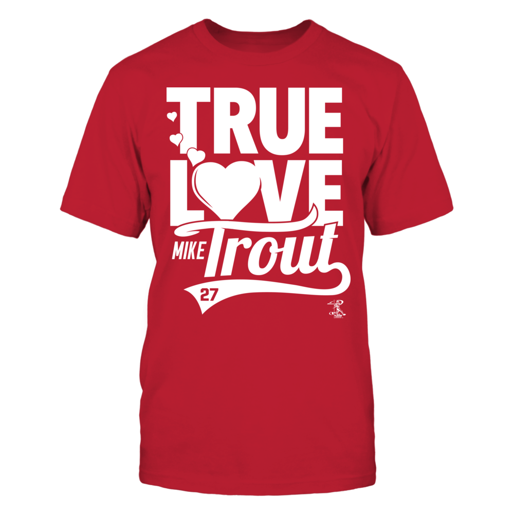 Mike Trout - True Love Heart Front picture