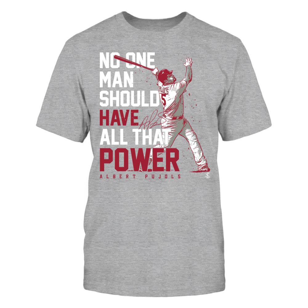 Albert Pujols - No Man Should Have All That Power Front picture
