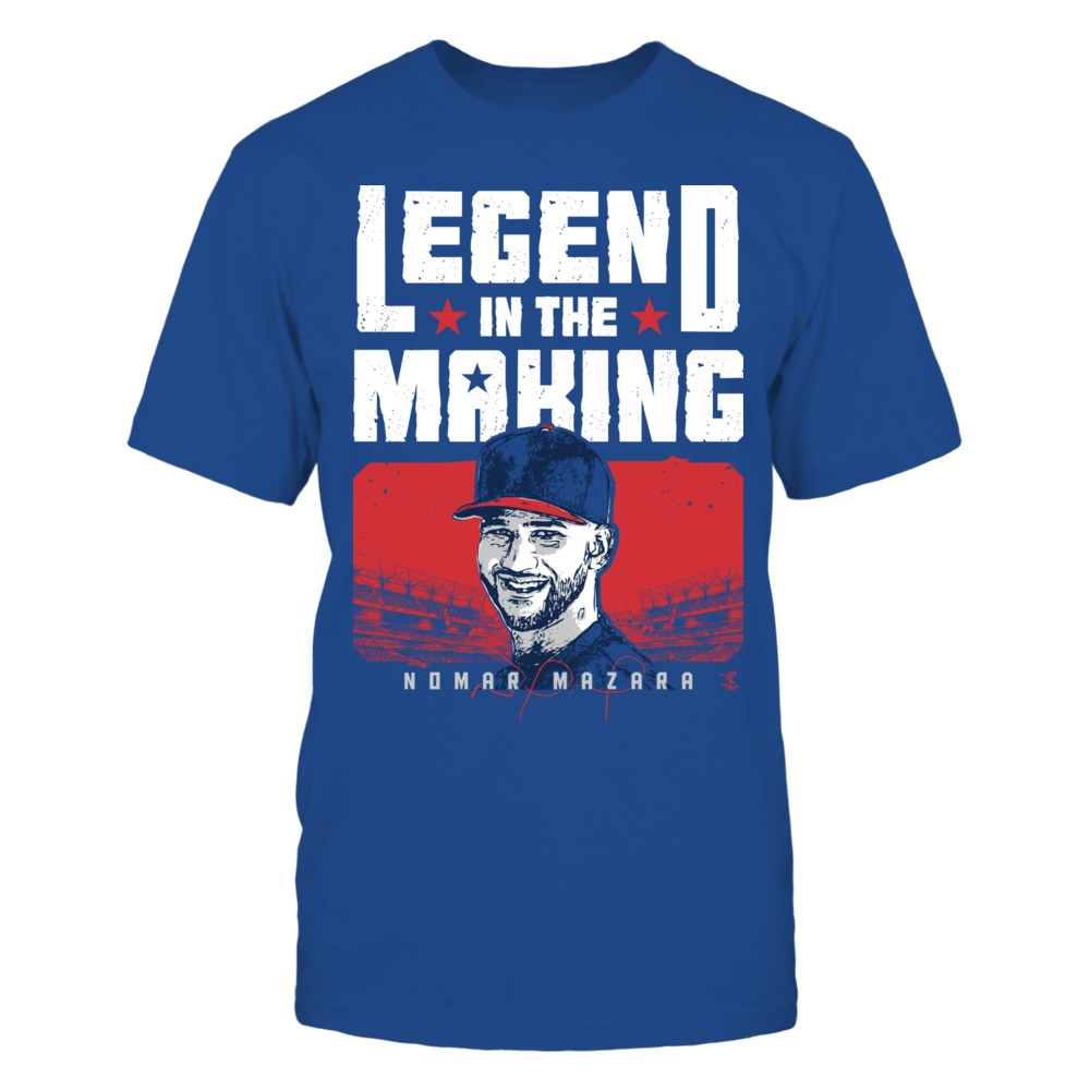 Nomar Mazara Nomar Mazara - Legend In The Making FanPrint