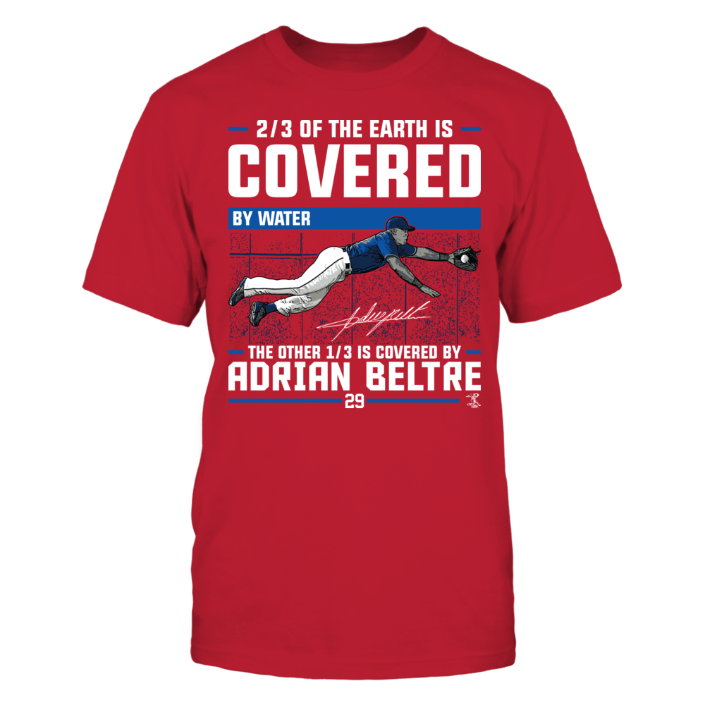 Adrian Beltre - Covered By Front picture