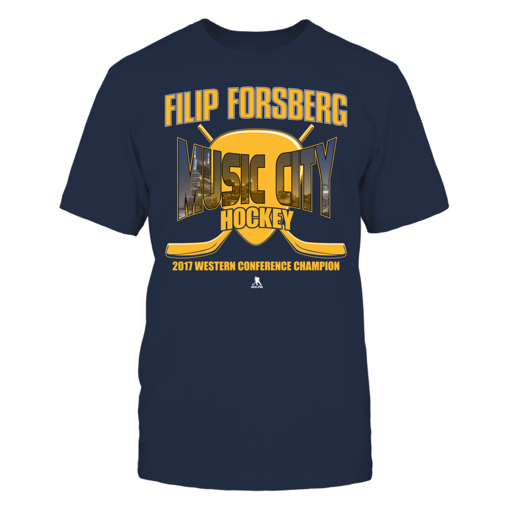 Filip Forsberg Filip Forgberg - Music City Hockey - 2017 Champion FanPrint