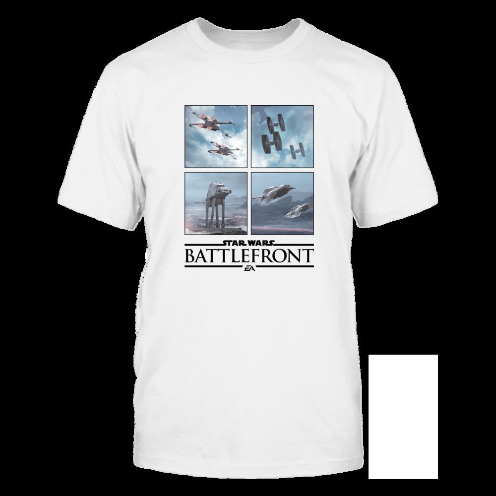 Star War T-shirt: Battlefront Four Square Front picture