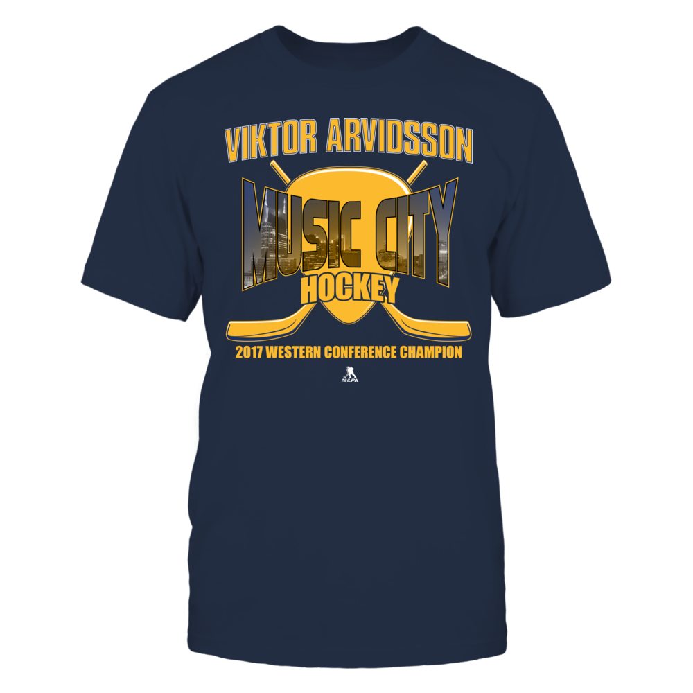 Viktor Arvidsson - Music City Hockey - 2017 Champion Front picture