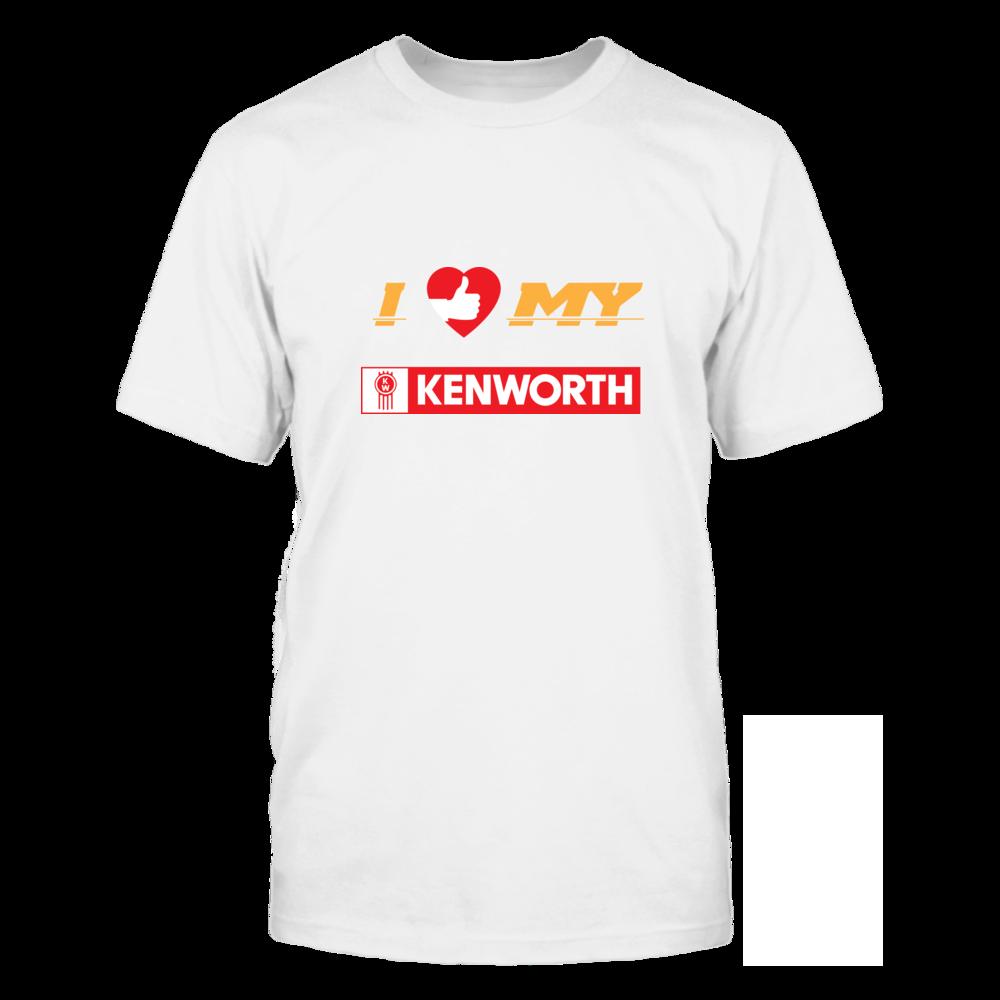 TShirt Hoodie I Love My Kenworth FanPrint