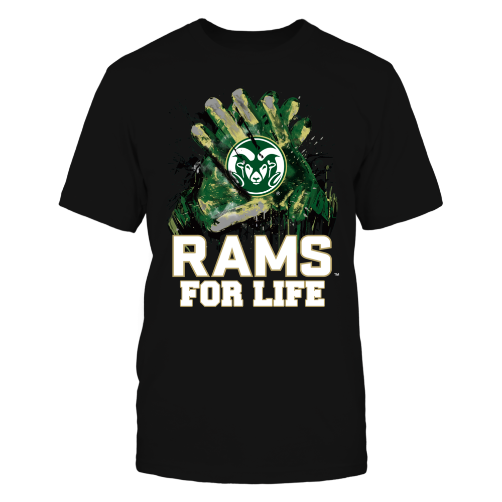 Colorado State Rams - For Life Front picture