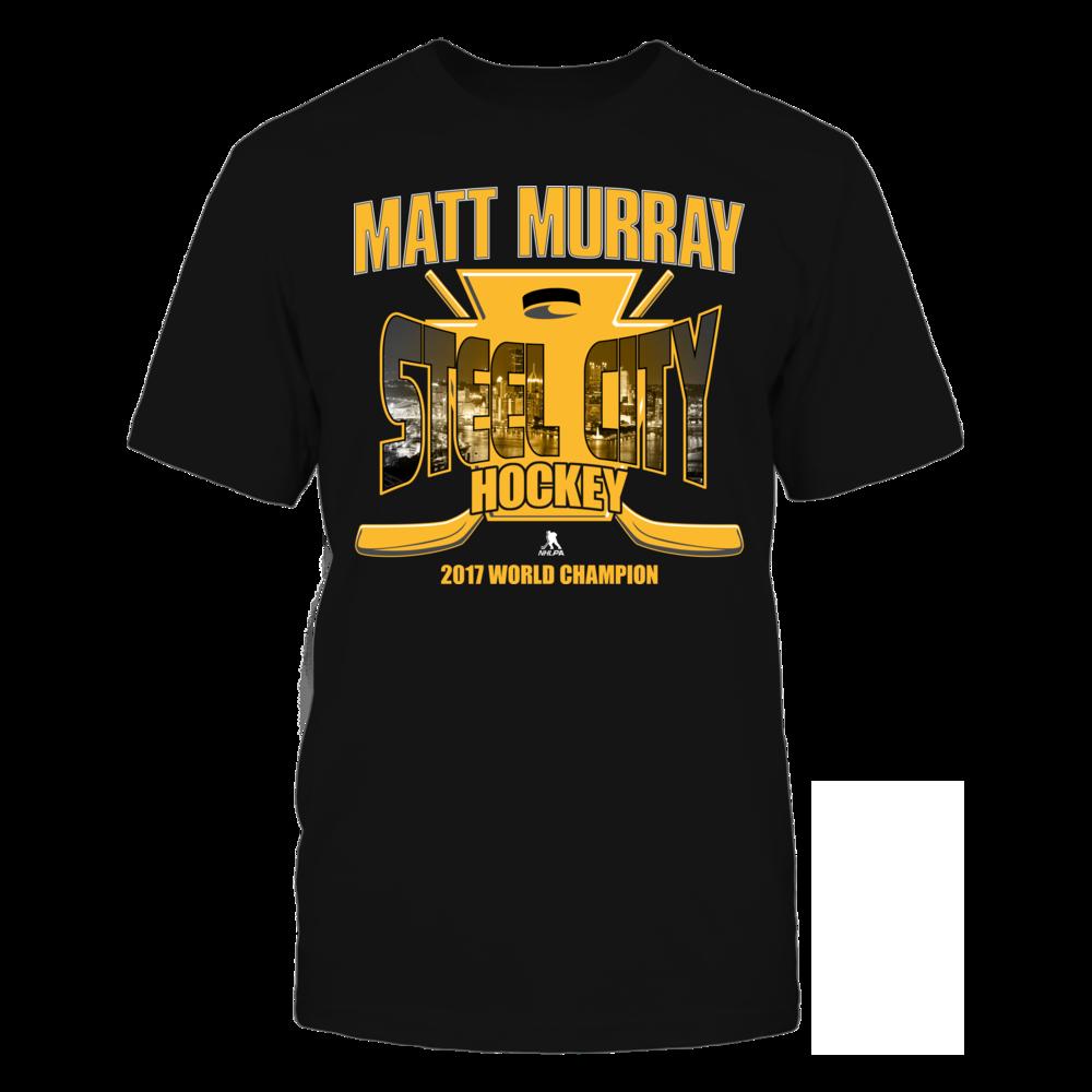 Matt Murray Matt Murray - Steel City Hockey - 2017 World Champion FanPrint