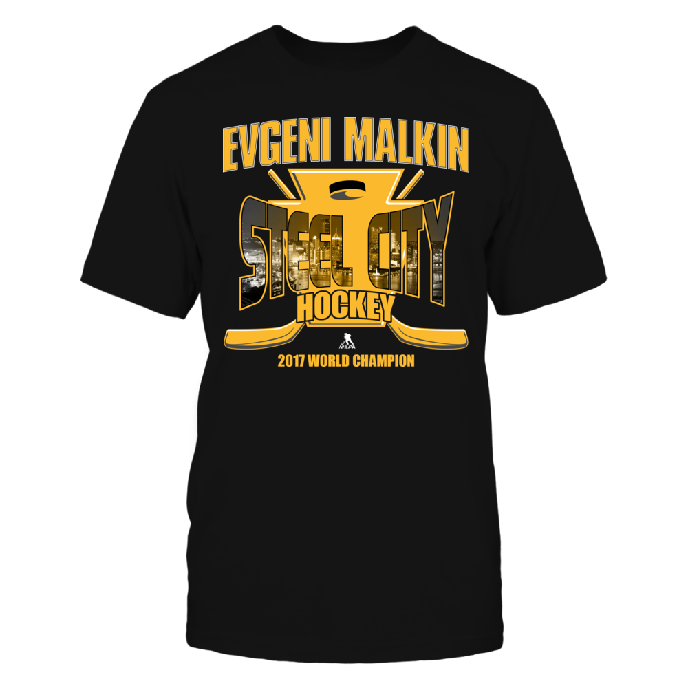 Evgeni Malkin Evgeni Malkin - Steel City Hockey - 2017 World Champion FanPrint
