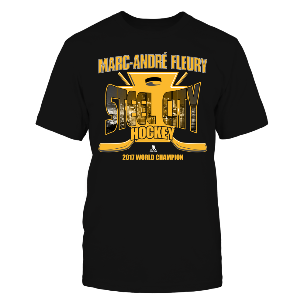 Marc-Andre Fleury - Steel City Hockey - 2017 World Champion Front picture