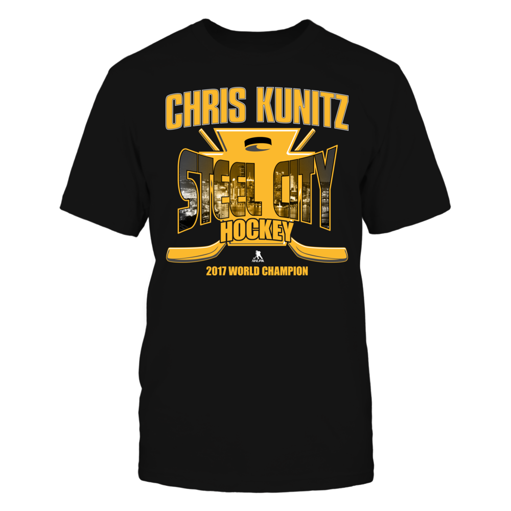 Chris Kunitz Chris Kunitz - Steel City Hockey - 2017 World Champion FanPrint
