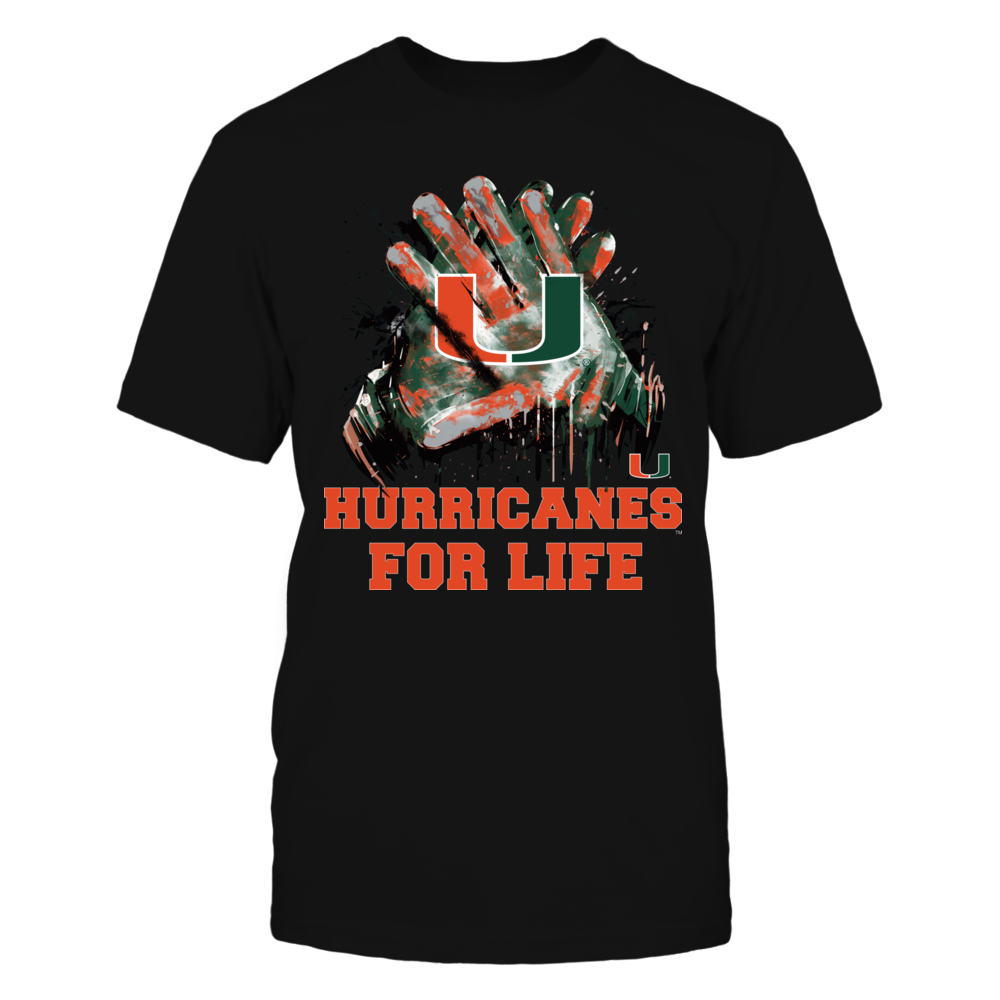 Miami Hurricanes - For Life - IF-IC17-DS45 Front picture