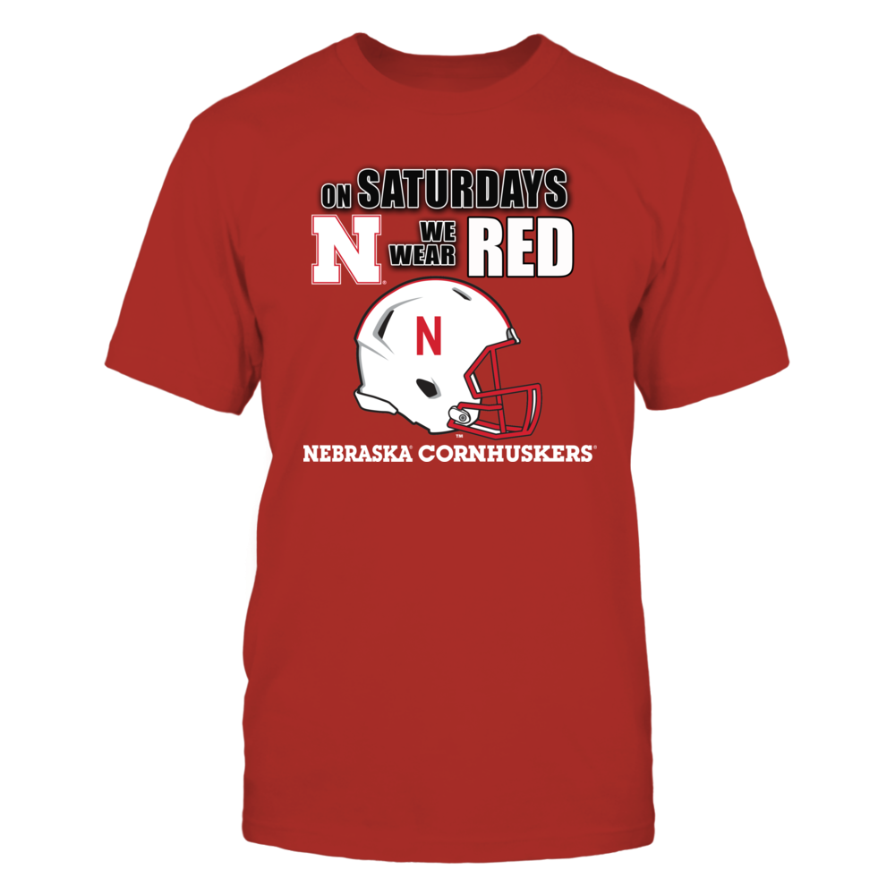 On Saturdays we Wear RED, it's a Nebraska Cornhusker Football Front picture