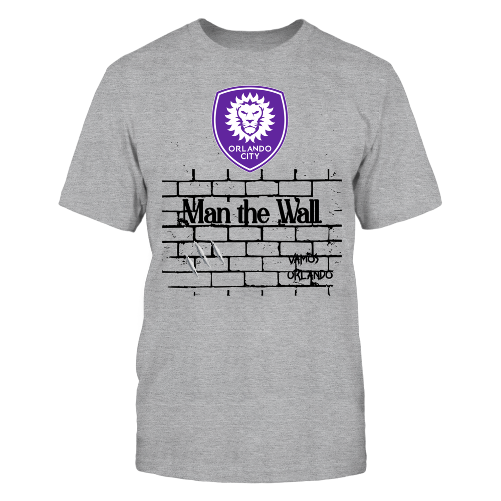 Orlando City Logo with Man the wall graphic Front picture