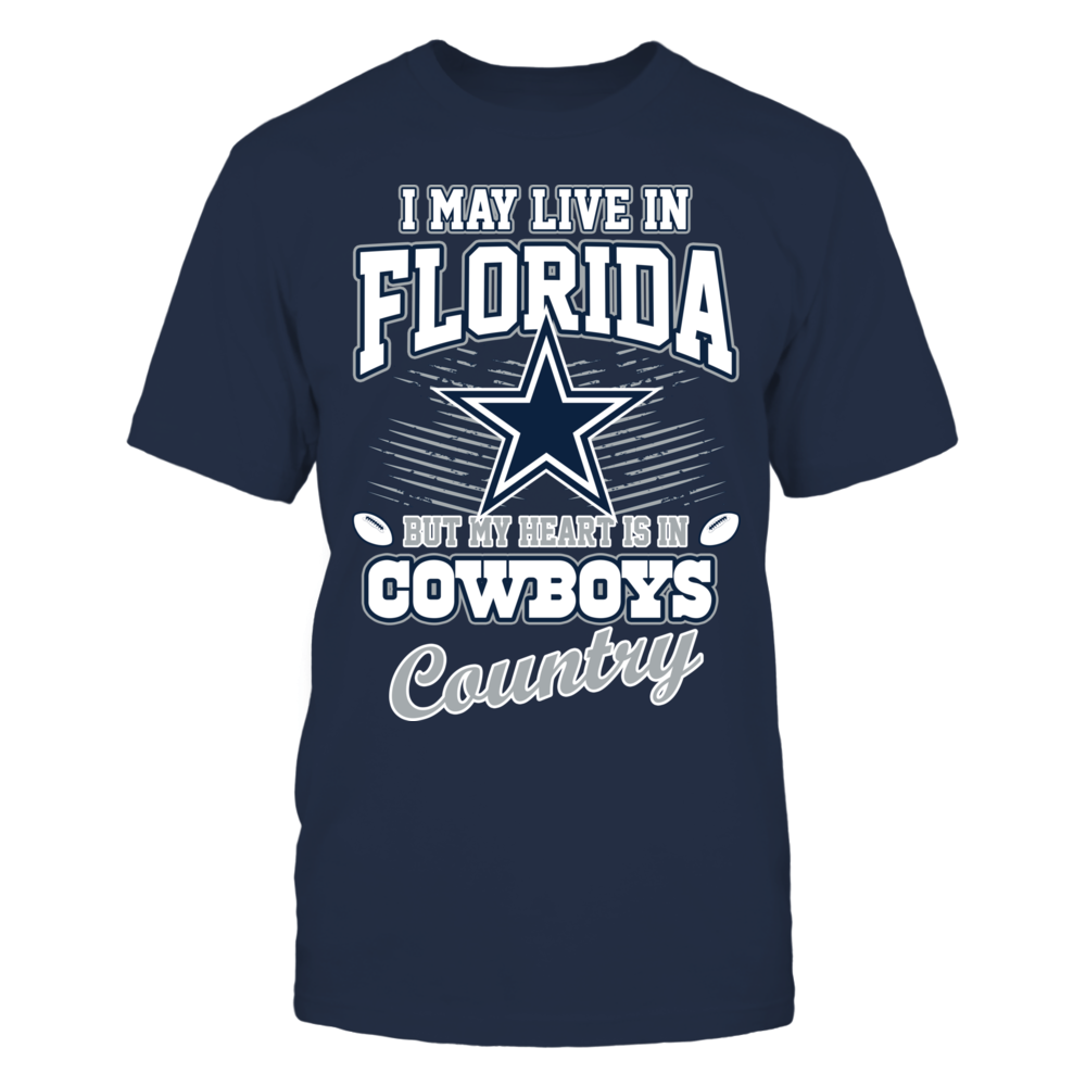 Dallas Cowboys I may live in Florida FanPrint