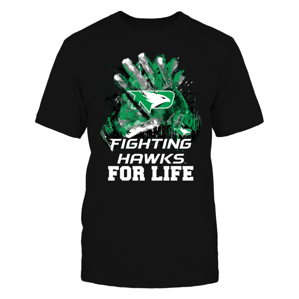 North Dakota Fighting Hawks - For Life Front picture