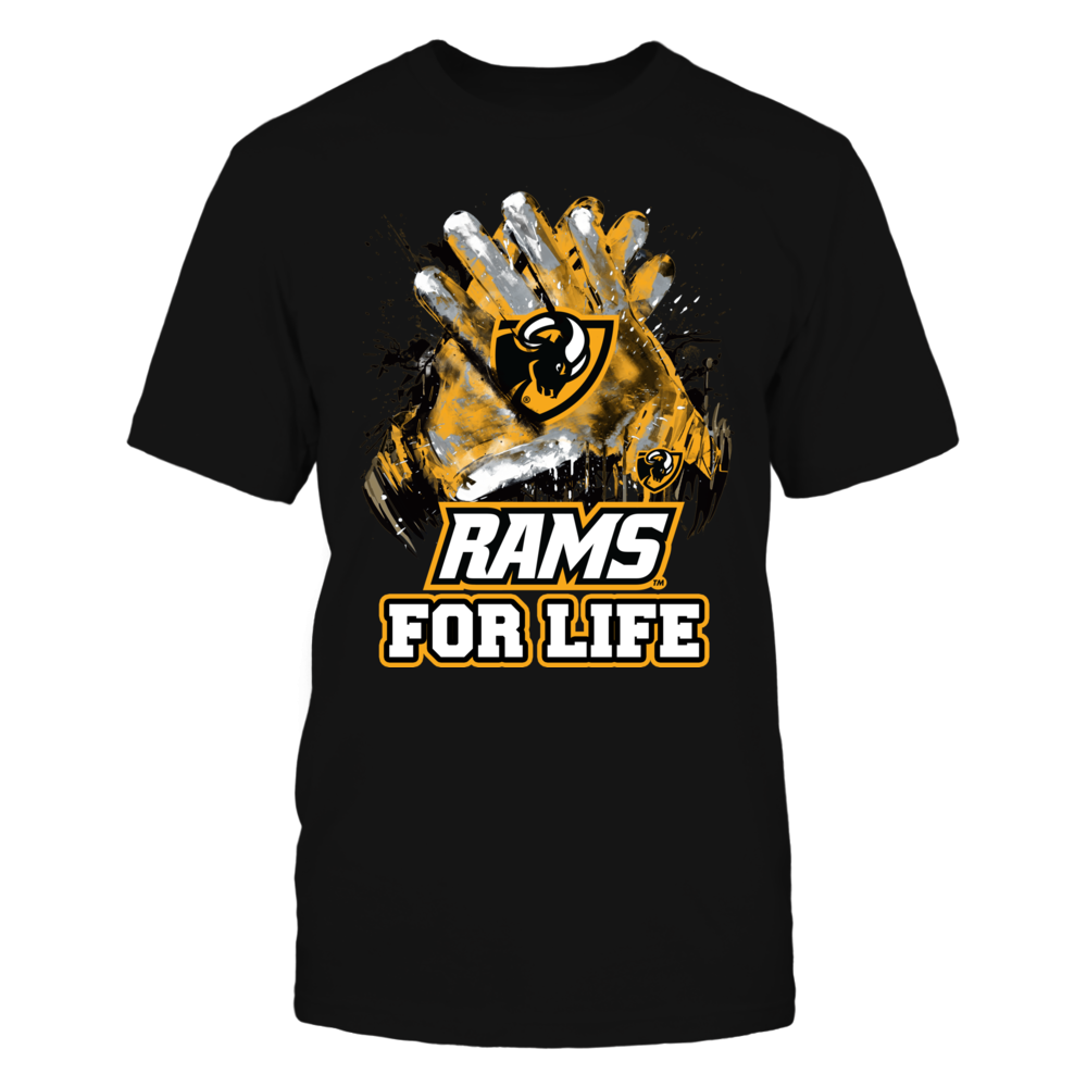 Virginia Commonwealth Rams - For Life Front picture
