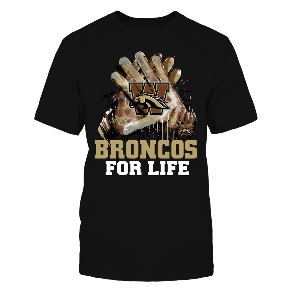 Western Michigan Broncos - For Life Front picture