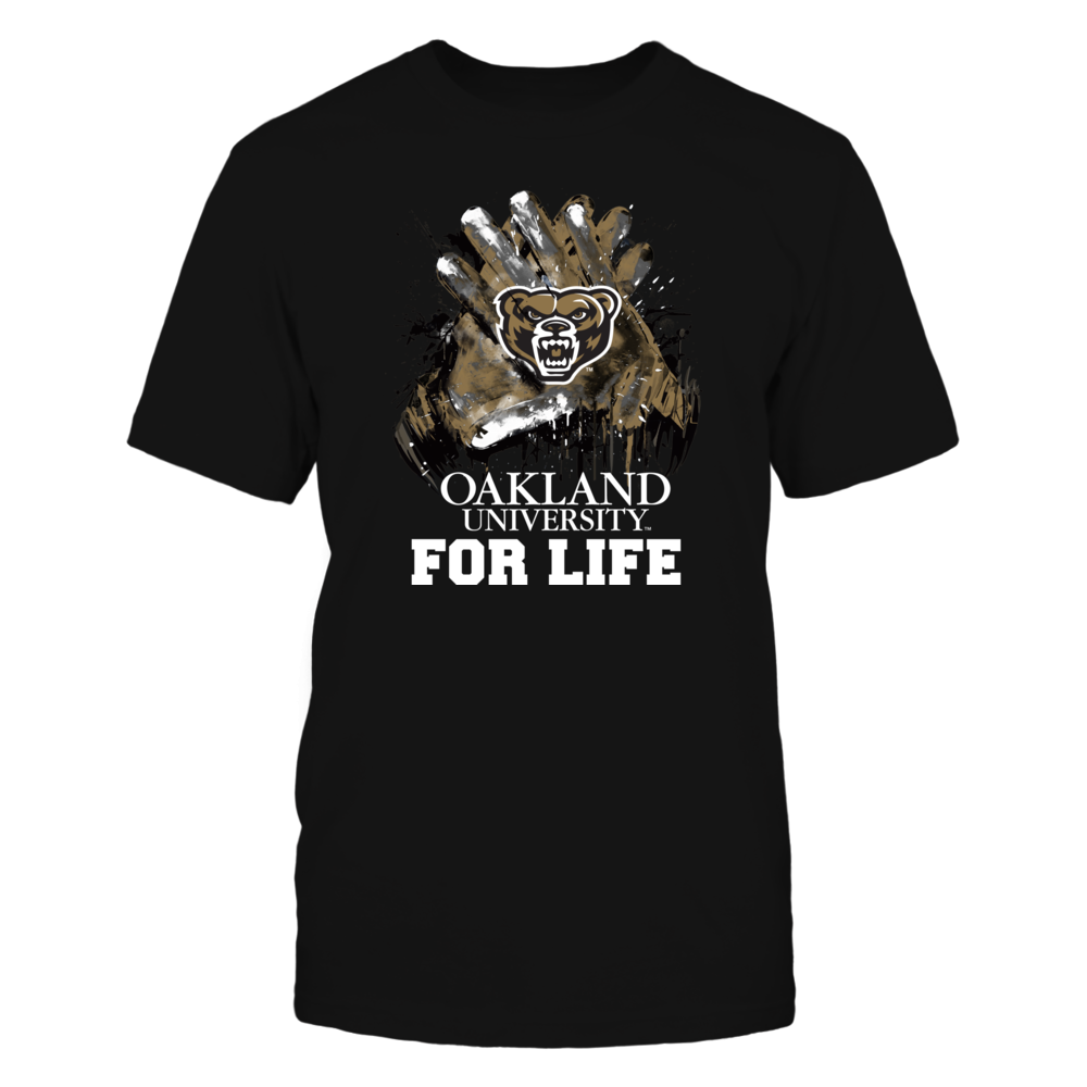 Oakland Golden Grizzlies - For Life Front picture