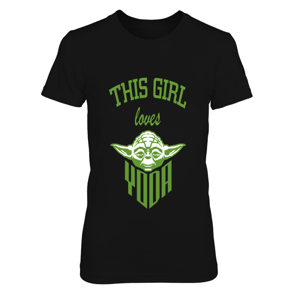 Star Wars Yoda Love t-shirt Front picture