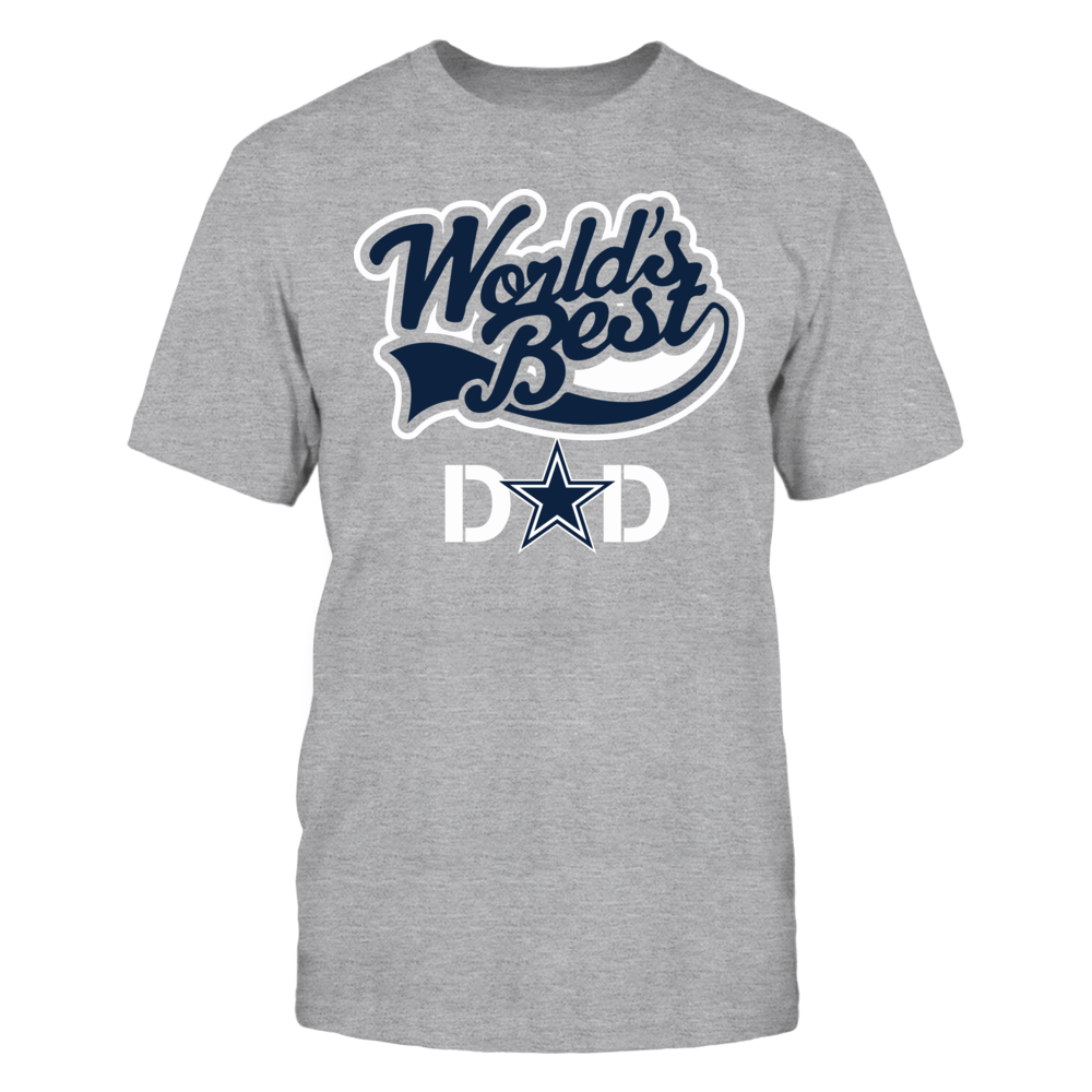 WORLD's BEST DAD - DALLAS COWBOYS Front picture