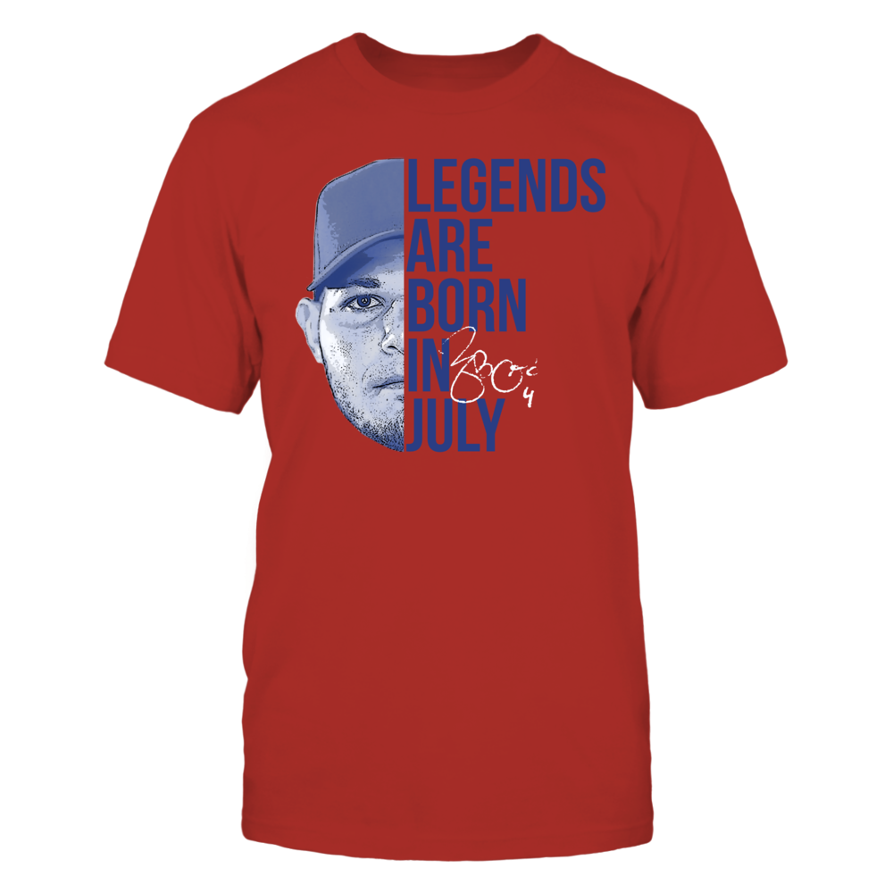 Yadier Molina - Legends Are Born In July Front picture