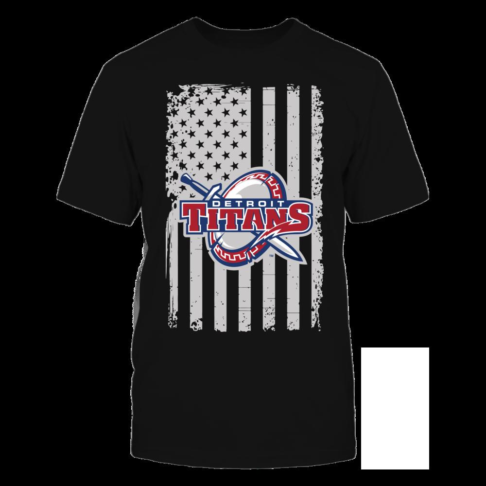 Detroit Mercy Titans - Flag Pride Front picture