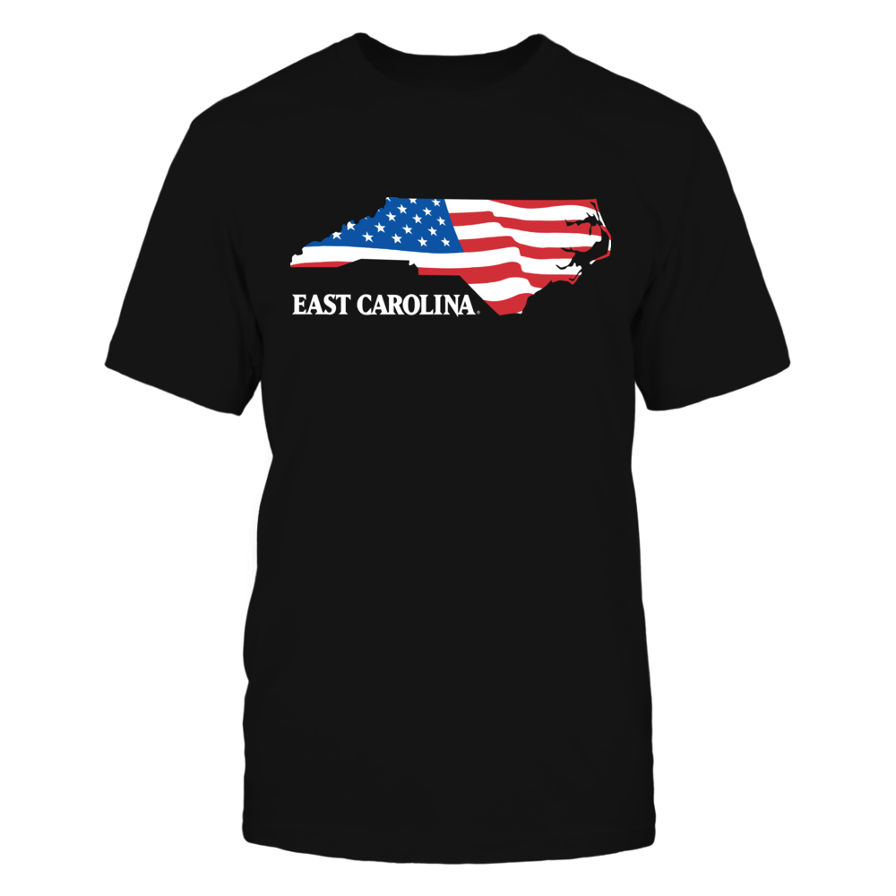 East Carolina Pirates - Flag Pride Logo State Front picture