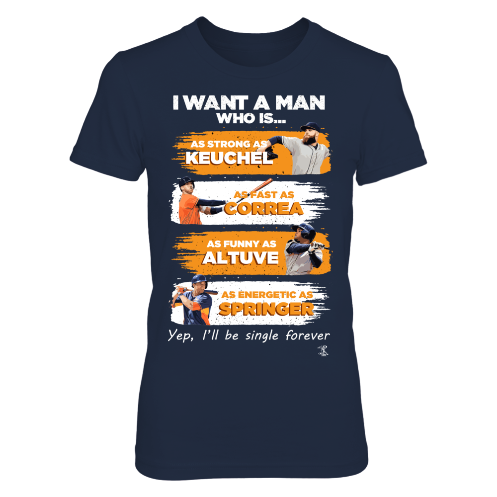 ASTROS - I WANT A MAN Front picture