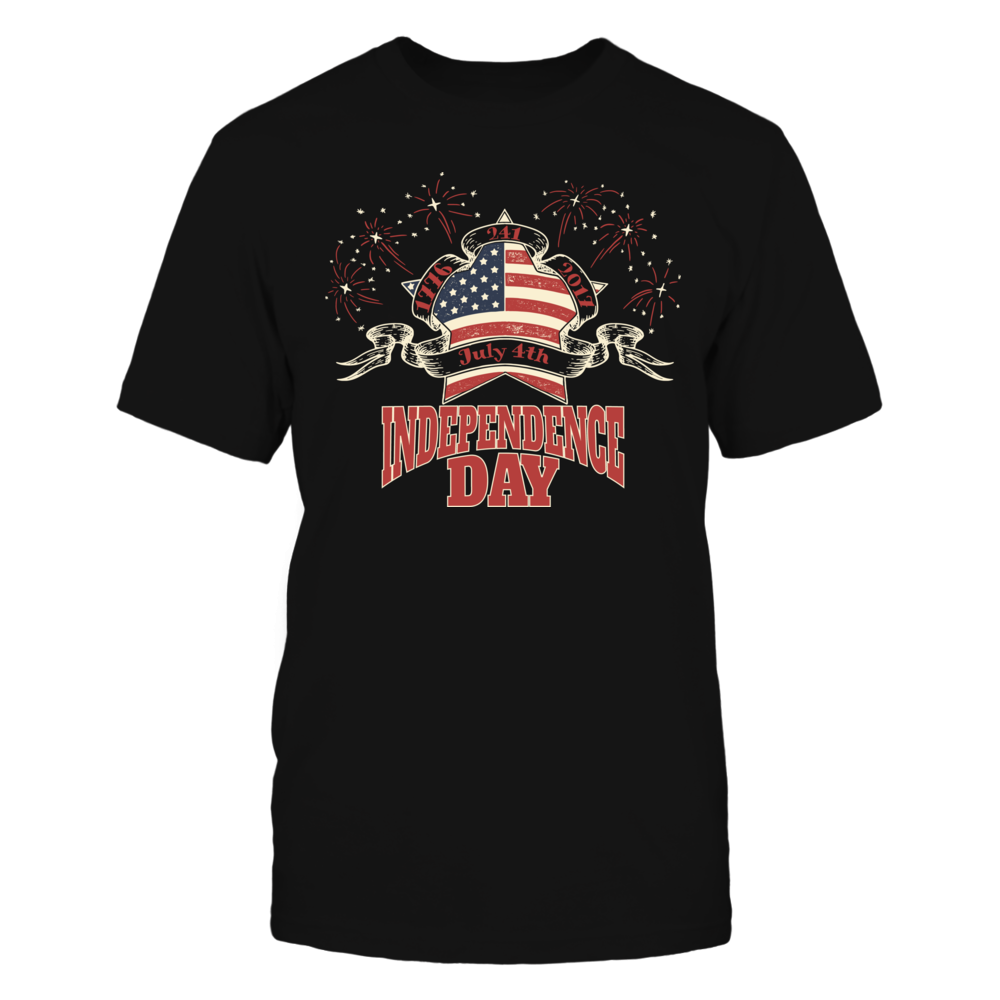 TShirt Hoodie Celebrate Independence Day Patriotic July 4th T-Shirt FanPrint