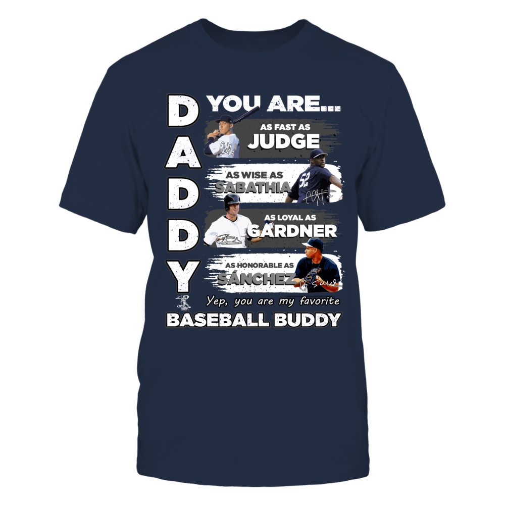 YANKEES - DADDY YOU ARE BASEBALL BUDDY Front picture