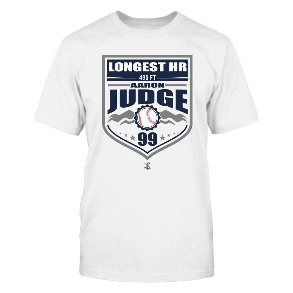 Aaron Judge- Longest HR Front picture