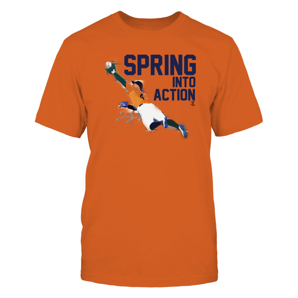Spring into Action - George Springer Front picture
