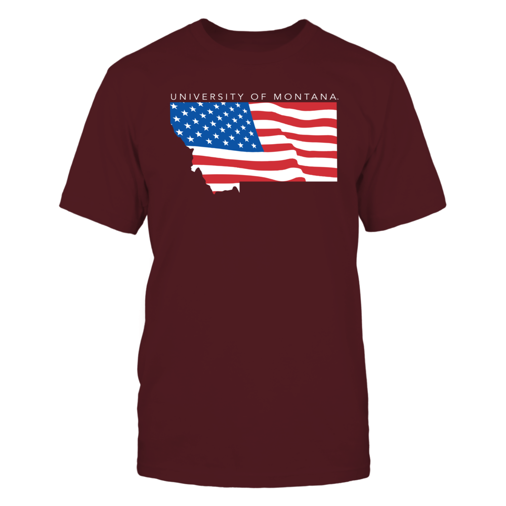 Montana Grizzlies - Flag Pride Logo State Front picture