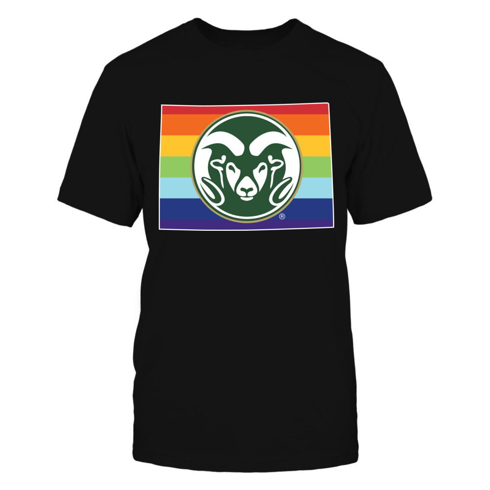Colorado State Rams - Pride Month Front picture