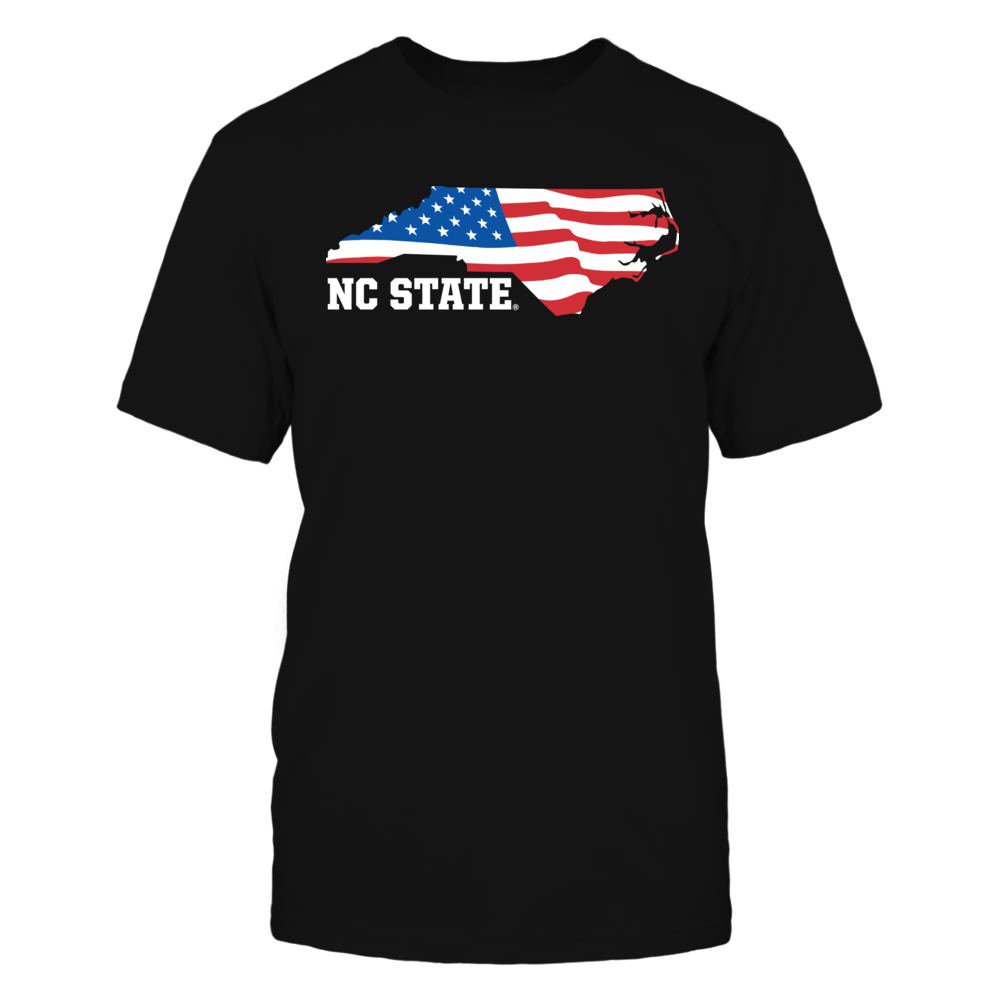 NC State Wolfpack - Flag Pride Logo State Front picture