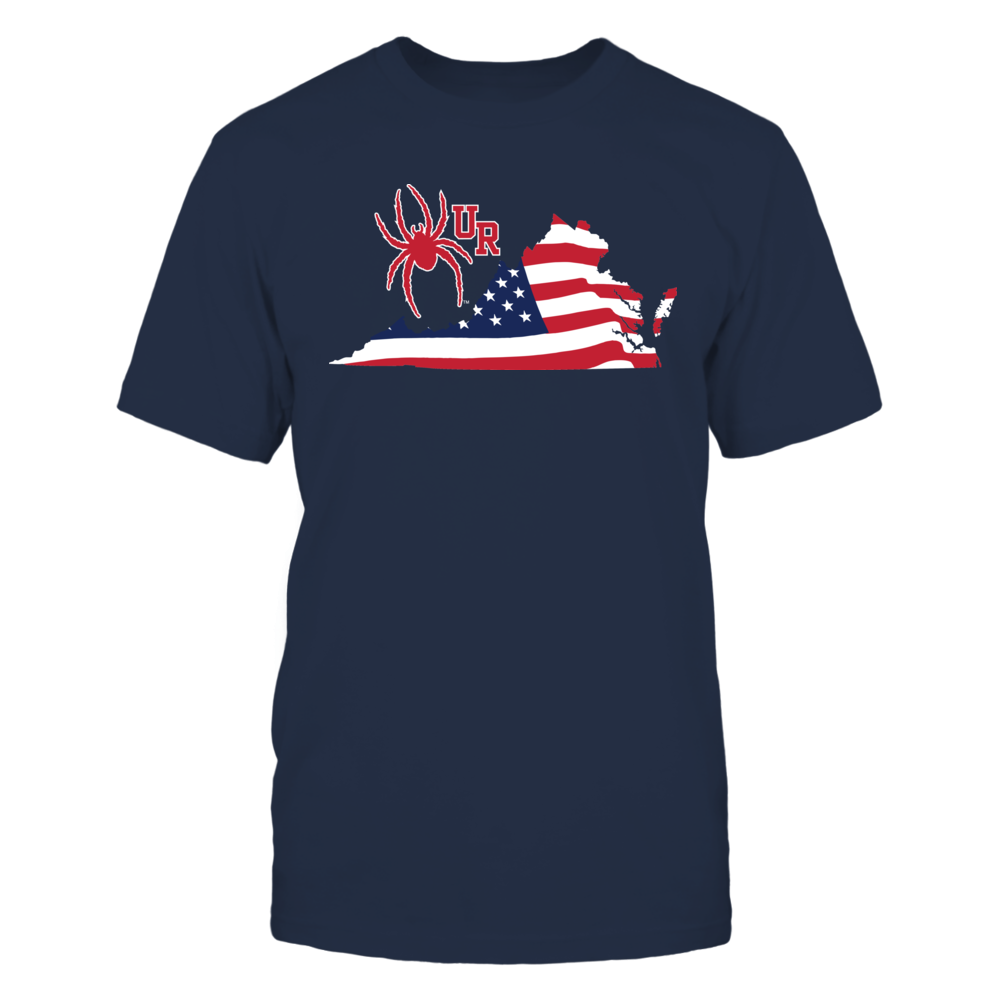 Richmond Spiders - Flag Pride Logo State Front picture