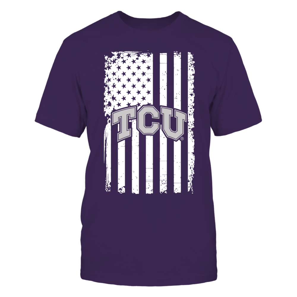 TCU Horned Frogs - Flag Pride Front picture