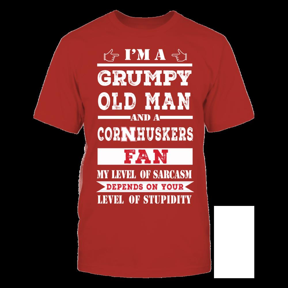 Grumpy Old Man - Nebraska Cornhuskers Front picture