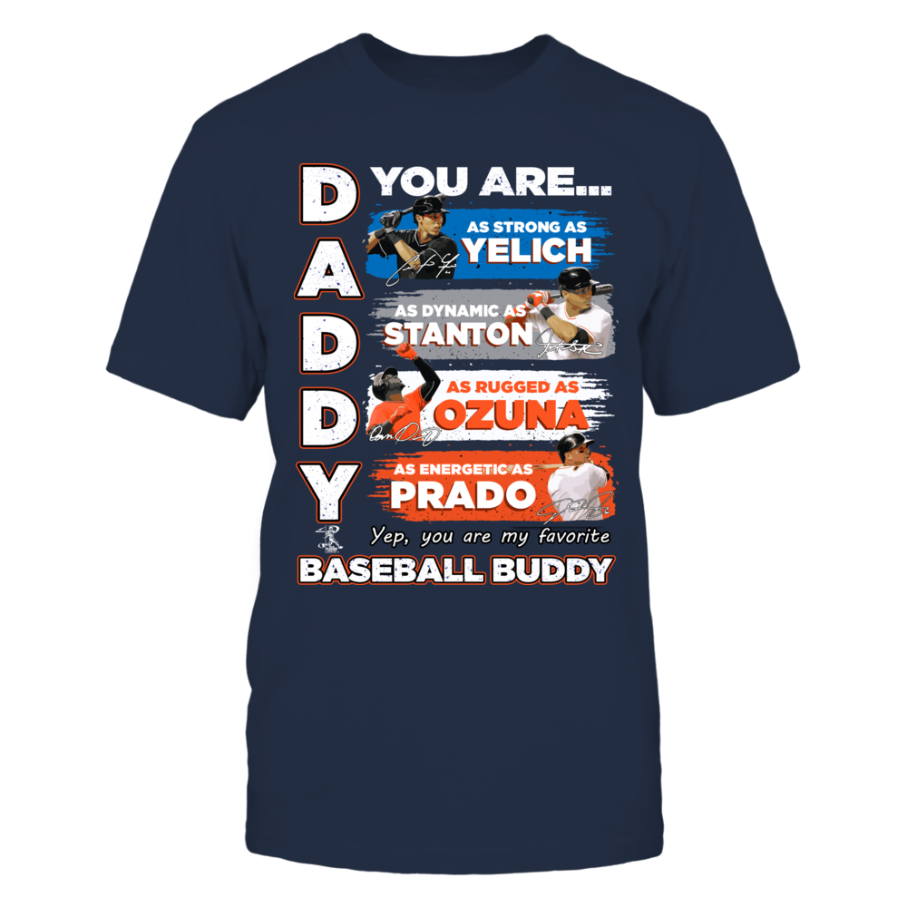 MARLINS - DADDY YOU ARE BASEBALL BUDDY Front picture