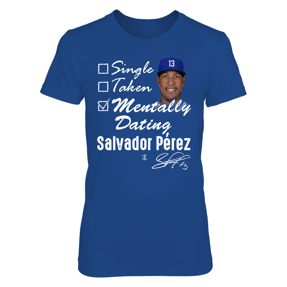 MENTALLY DATING - SALVADOR PEREZ Front picture