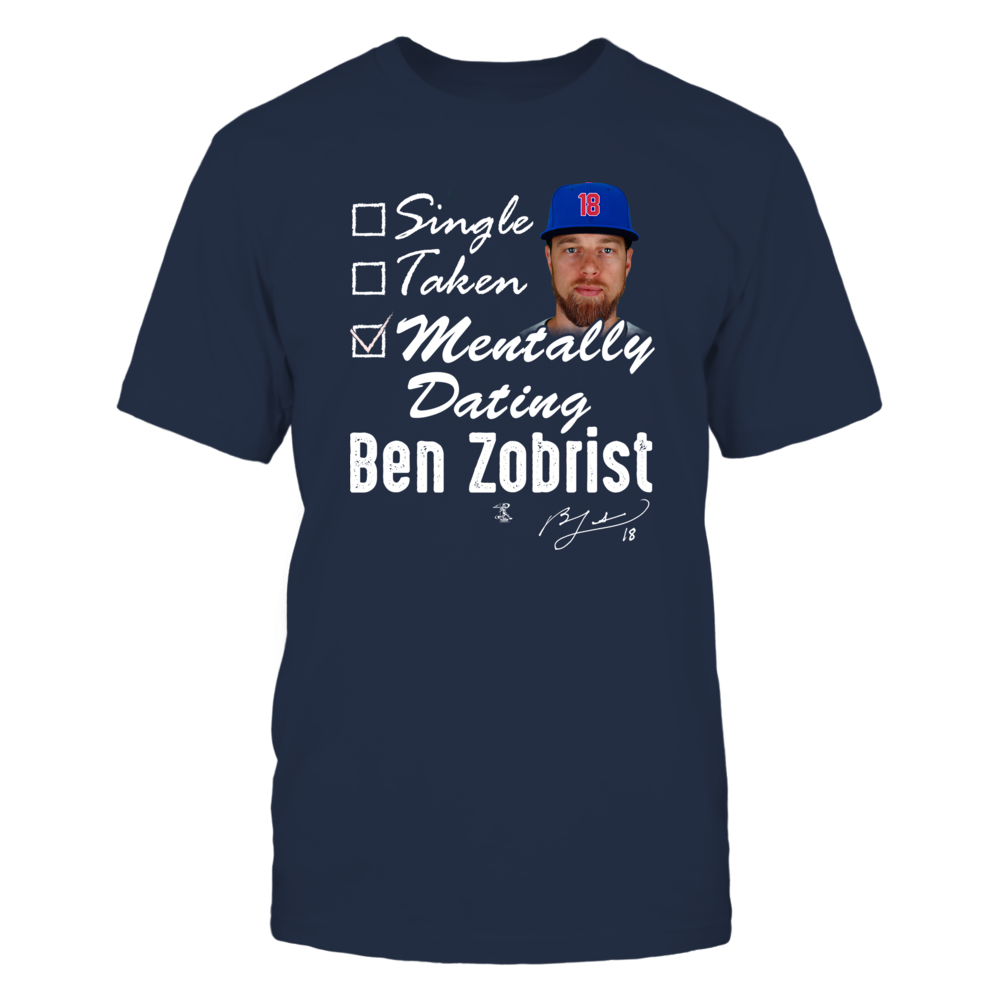 MENTALLY DATING - BEN ZOBRIST Front picture