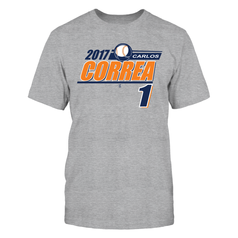 Carlos Correa - 2017 T- Shirt Front picture