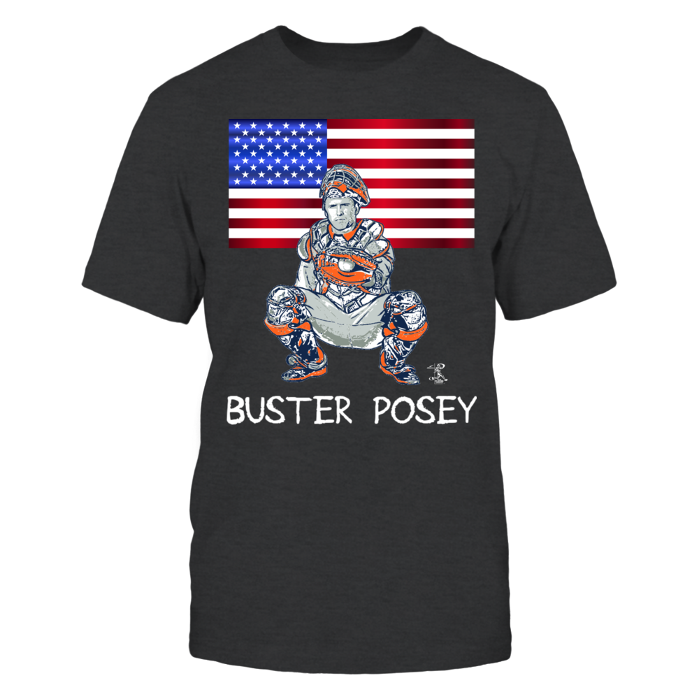 Buster Posey, Fourth of July American Flag Front picture