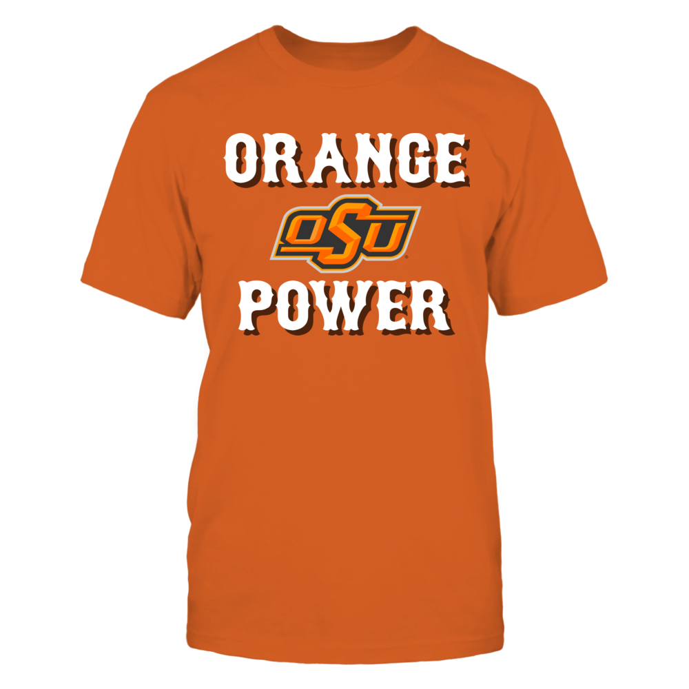 Oklahoma State University - Orange Power Front picture