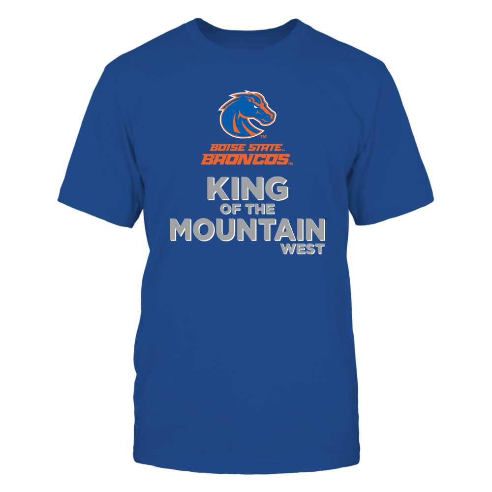 Boise State Broncos Boise State Broncos - King of the Mountain FanPrint