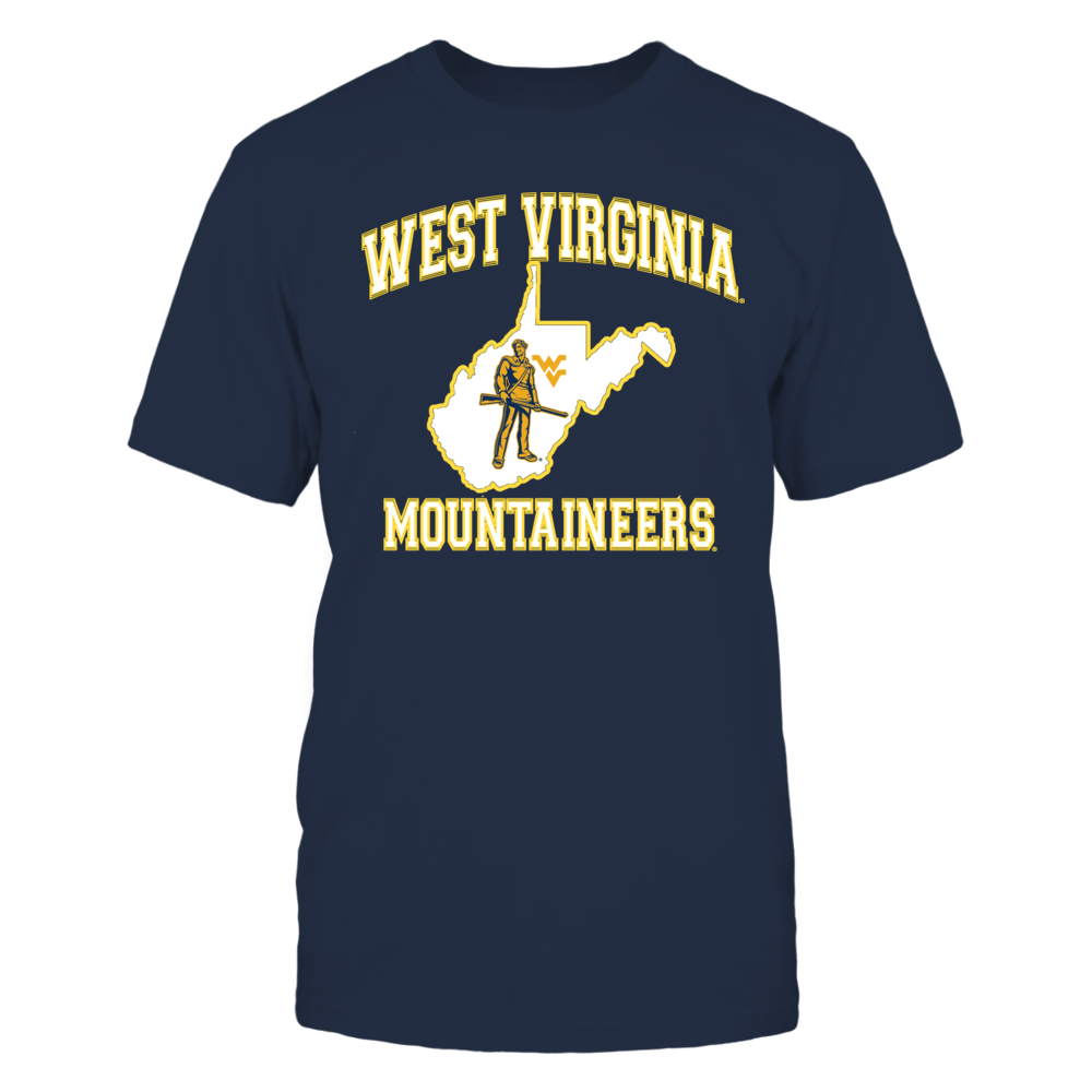 WEST VIRGINIA MOUNTAINEERS Front picture